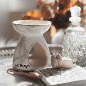 Brûle-parfum MARBLE