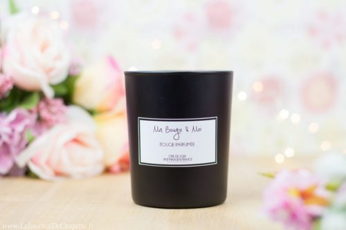 Bougie parfumée Prestige noire