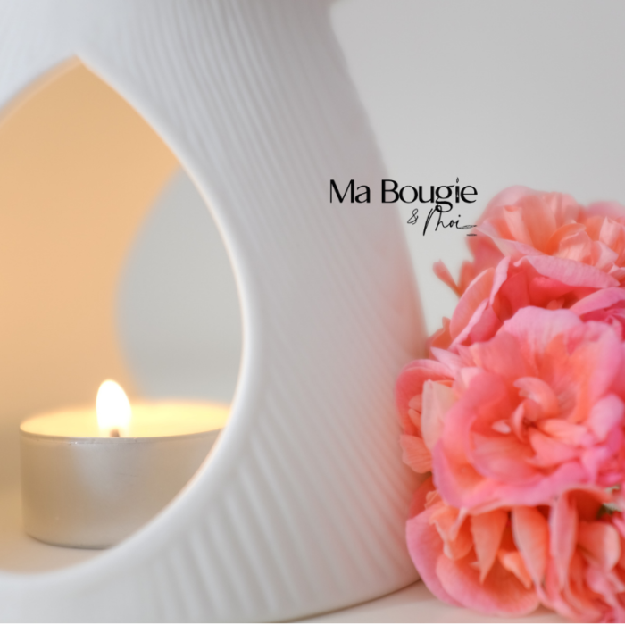 Brûle-parfum ANDALOUSE (strié)