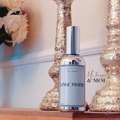 Spray parfumé naturel d'intérieur / linge de maison