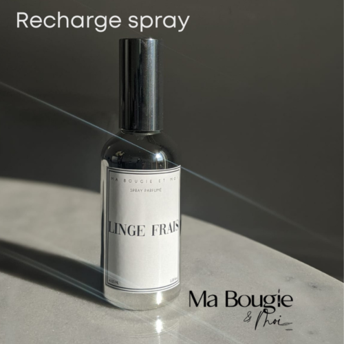 Recharge spray parfumé naturel