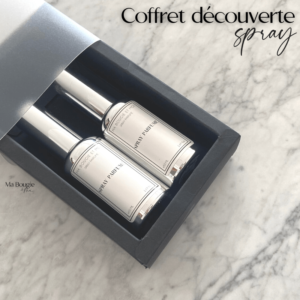 Coffret cadeau découverte : sprays parfumés